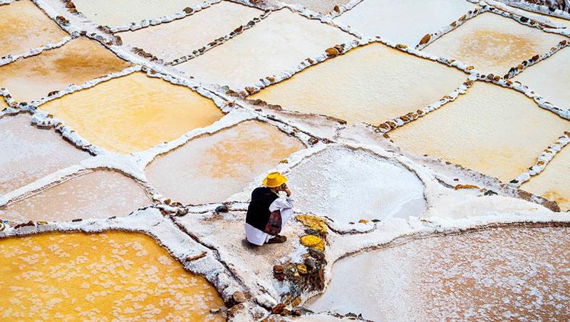 引自地下水的馬拉斯鹽田(Maras Salt Mines)大大小小,其數多達三千多個。