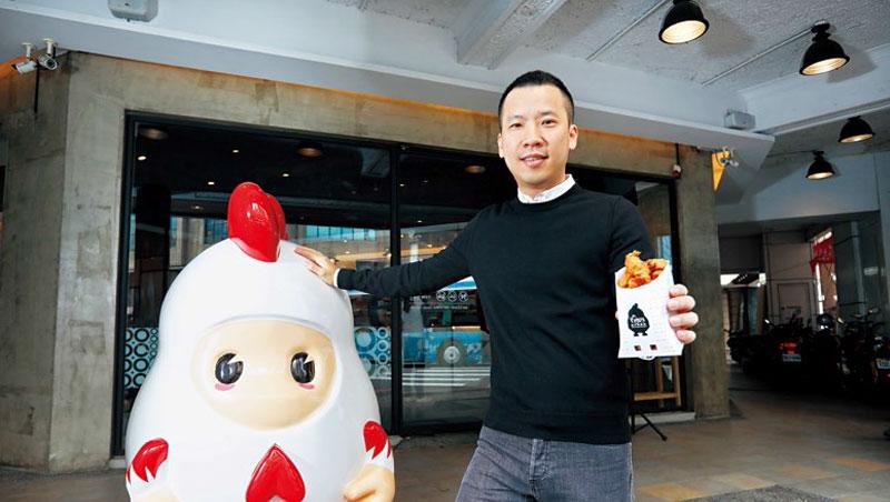 香繼光執行長黃智雄接手父親的路邊攤22年,讓小吃企業化經營、闖出國。