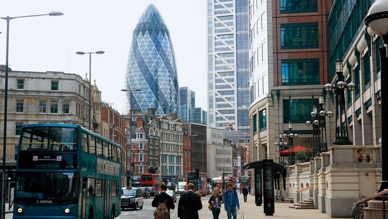 英國金融街