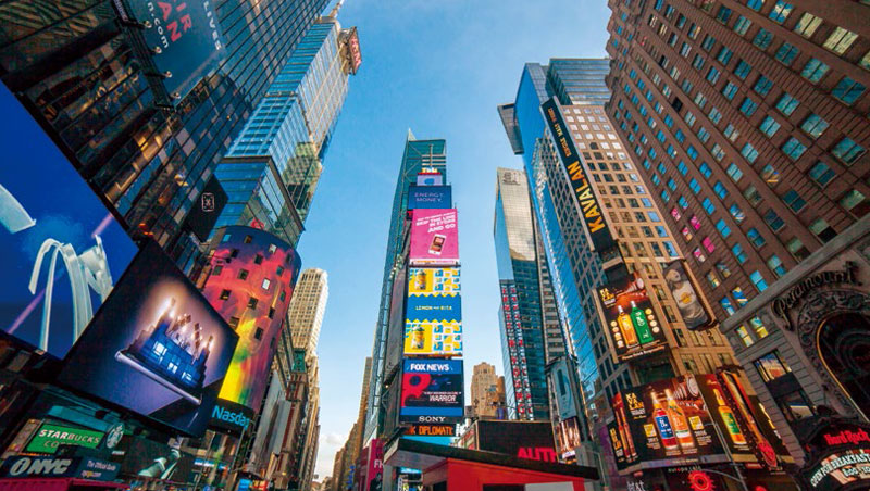 紐約》登時代廣場