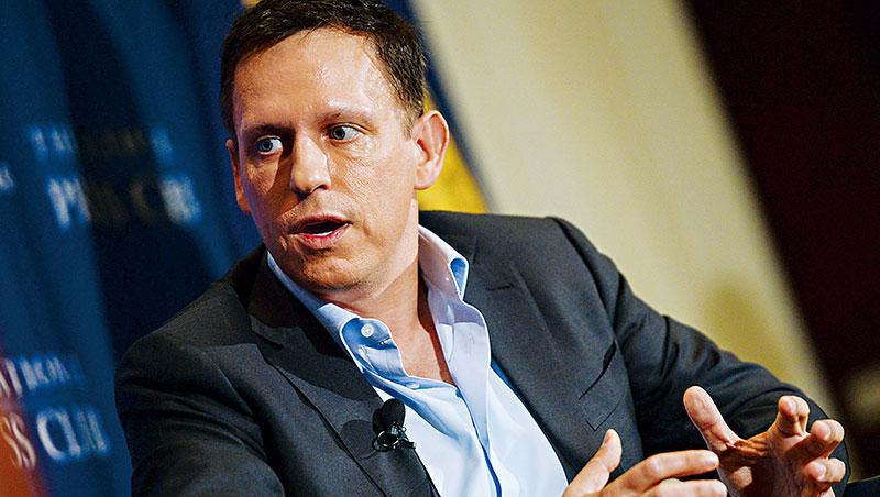 它,背後金主是中情局_提爾除創立線上支付平台Paypal,還創立「帕蘭提爾」,為美國政府獵殺賓拉登立下功勞。