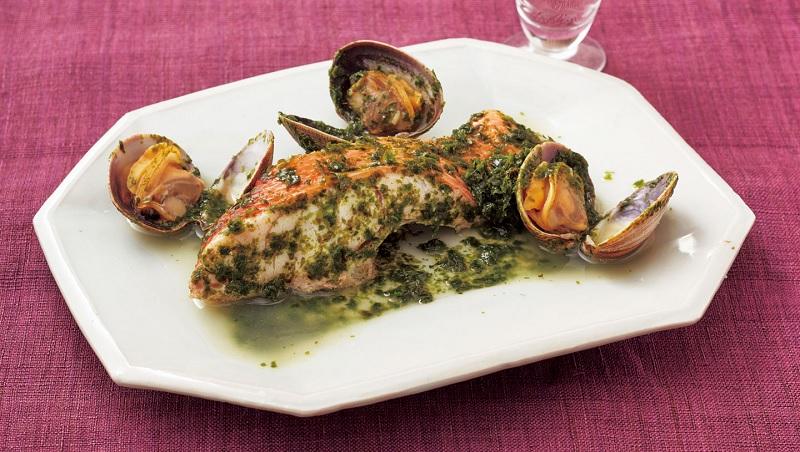 金目鯛正當季》海味料理「酒蒸金目鯛」超簡單!日本魚料理專家教你一個翻面訣竅,魚肉不破碎