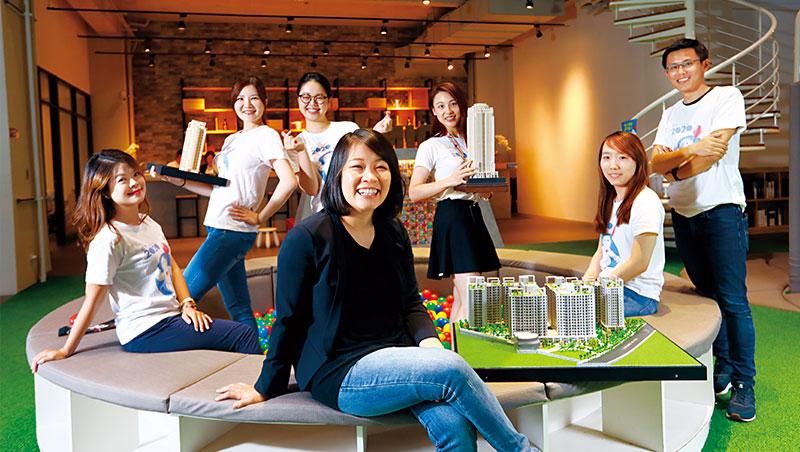 建案銷售團隊,素人就佔近8成!建商最年輕女董座,如何用素人軍團稱霸台中地產界?