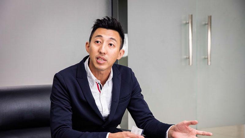 呂偉綸,38歲企業二代,準備到越南設廠的深圳台商