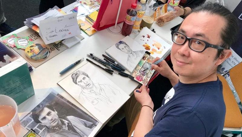 從小顧雜貨店、做廣告看板...把「台灣人情味」帶到歐洲的漫畫家:夢想是抓不到的,理想做就能達成