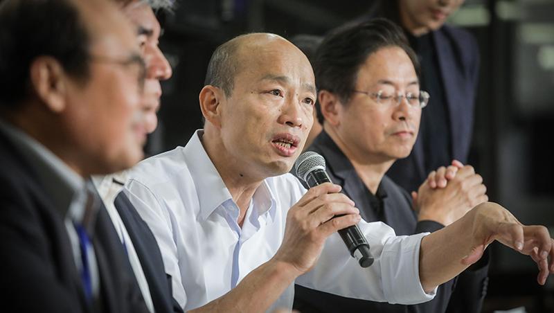 「我無法參加現行制度的初選」韓國瑜要不要選2020?五點聲明透露弦外之音