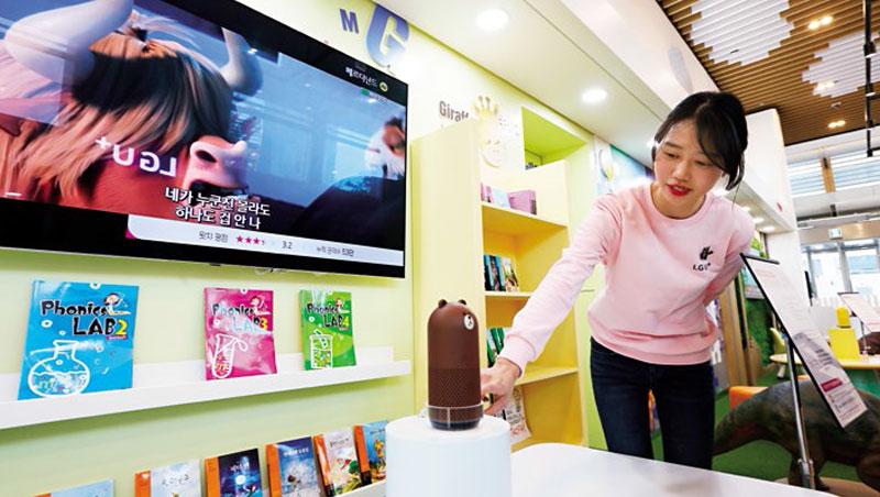 歐美智慧音箱市場早有亞馬遜、蘋果等大廠加入,Line也在日韓推出(圖),但音箱無論語音、內容和服務都講求在地化,讓台廠有切入機會。