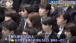 為何「東大」讓男生引以為榮,女生卻羞於啟齒?一場最高學府新生演講,直戳日本殘酷現實