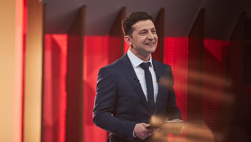 烏克蘭大選/諧星候選人嬉笑怒罵 一路壓著總統打
