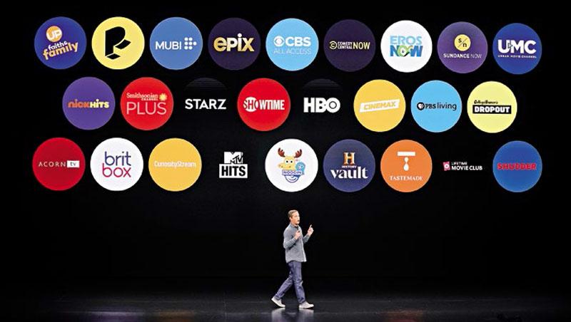 蘋果今年春季發表會,展示將推出的Apple TV+,其中有線電視王HBO成為關注焦點之一。