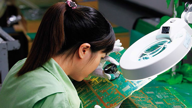 中國對美出口10大公司,8家是電子業台企,貿易戰對它們影響也最大。