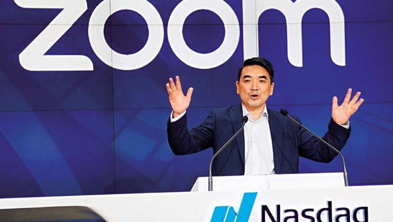 Zoom目前市值逾200億美元,這也讓持股20%的創辦人袁征躋身億萬富翁行列。