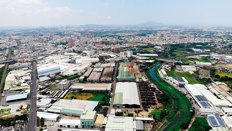 鳥瞰「工業之米」的故鄉