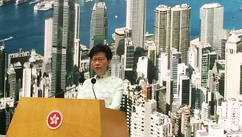反送中》香港特首親上火線!林鄭月娥宣布:《逃犯條例》修法暫緩