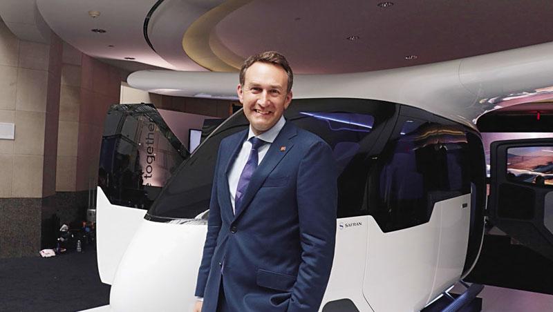 優步空中交通部門總監艾利森說,空中與陸地概念相同,「有高使用率很重要。」