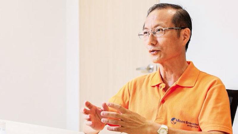 晶心科技總經理:林志明