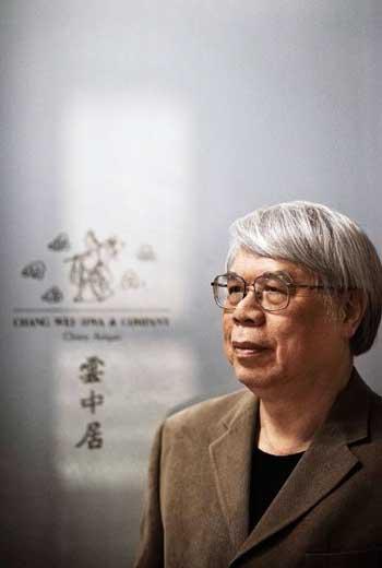 台灣有許多知名藝術蒐藏家,像雲中居主人張偉華(圖),以玉器蒐藏聞名華人圈。