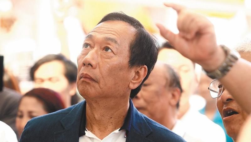 吳敦義籲別脫黨 郭台銘:現在只為理想