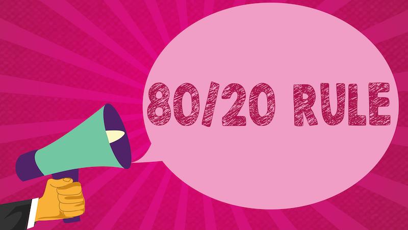 80/20法則》怎麼留住含金量最高客戶、和最優秀員工?