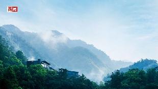 雲霧間的奢華溫泉